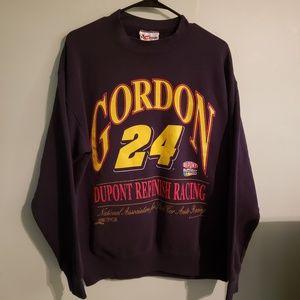 VINTAGE JEFF GORDON DUPONT RACING  SWEATSHIRT